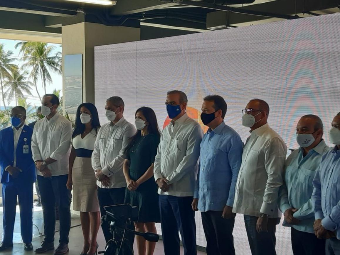 Abinader encabeza acto de apertura plan expansión de la Zona Franca Las Américas