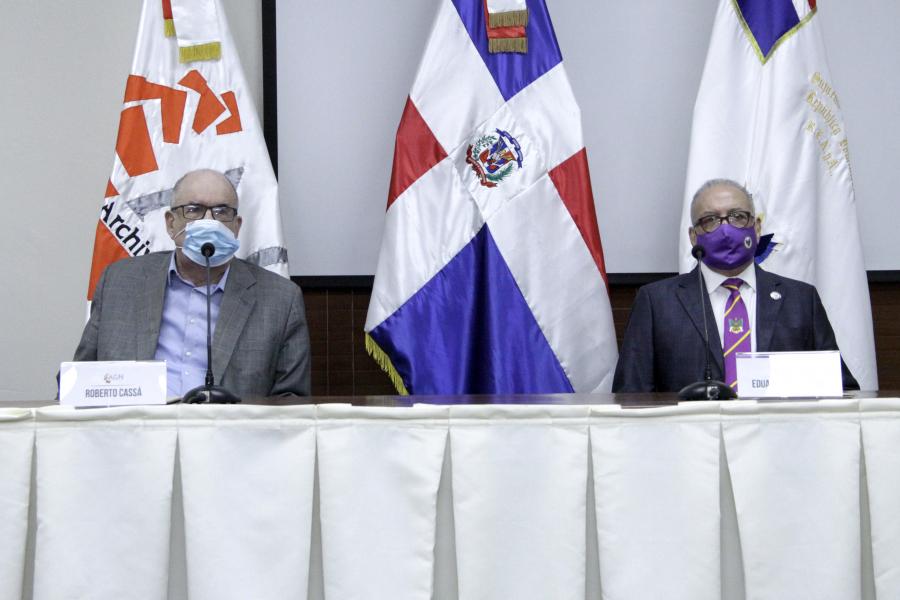 Archivo General de la Nación y el Supremo Consejo del Grado 33 firman convenio