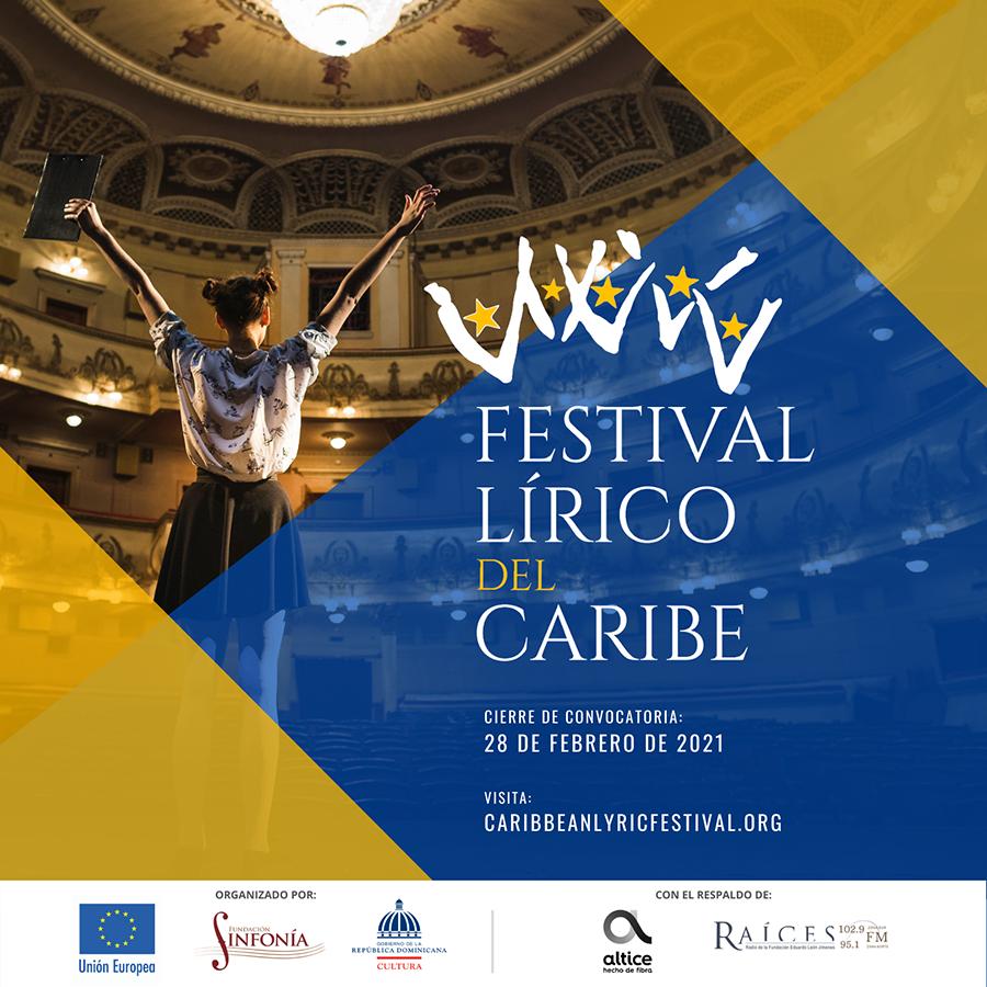 Unión Europea, Fundación Sinfonía y el Ministerio de Cultura anuncian Festival Lírico del Caribe