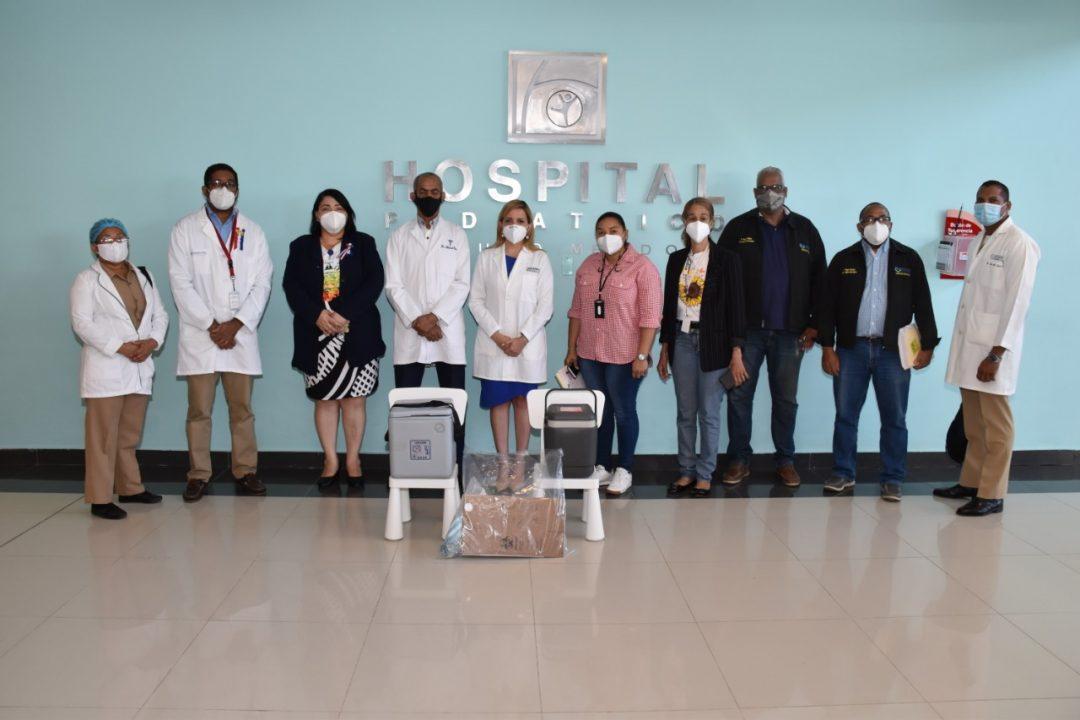 Hospital Hugo Mendoza recibe 300 vacunas Sinovac para su personal de salud