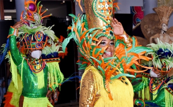"""Ministerio de Cultura da apertura a """"Exposición Temática del Carnaval Dominicano"""""""