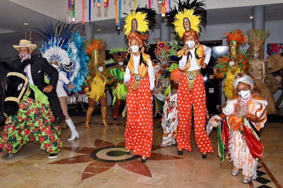 """Ministerio de Cultura inaugura """"Exposición Temática del Carnaval Dominicano"""""""