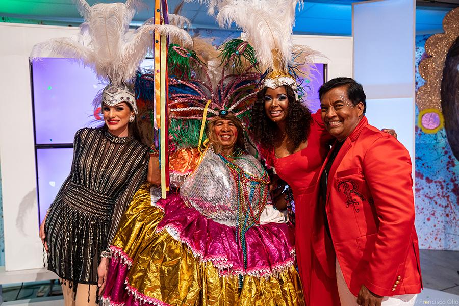 CERTV reconoce a Dagoberto Tejeda y Rochi Pérez por sus aportes al carnaval dominicano