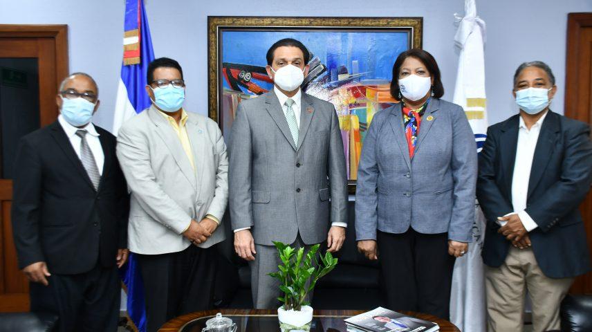 Ministerio de Salud y Colegio Dominicano de Periodistas coordinan colaboración sanitaria