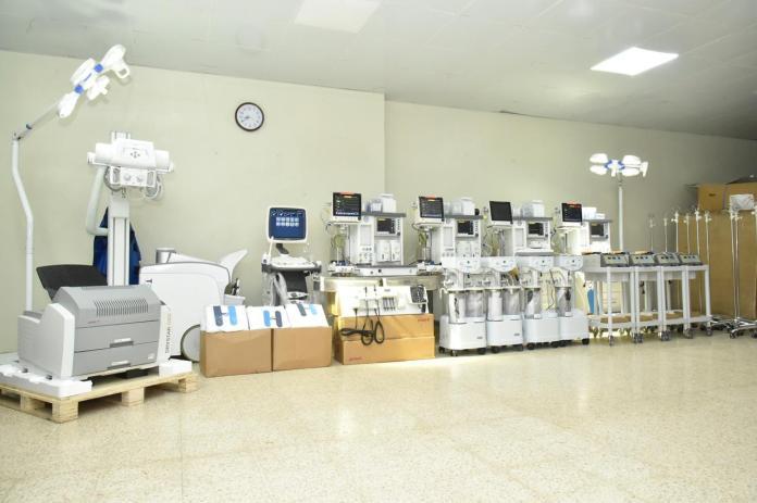 SNS entrega equipos valorados en más de 8 millones de pesos al hospital Antonio Musa