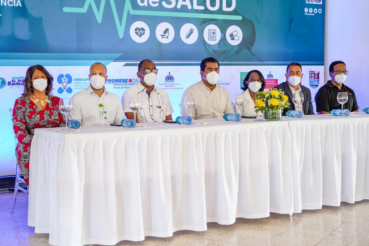 Lotería Nacional inicia Feria del Cambio con jornada de salud