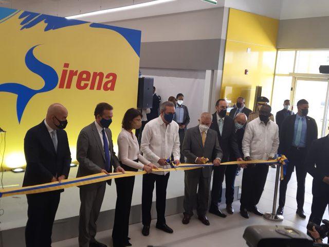 Abinader encabeza inauguración de nueva tienda Sirena en Los Alcarrizos