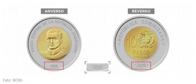 Banco Central pondrá a circular nueva moneda de RD$10.00