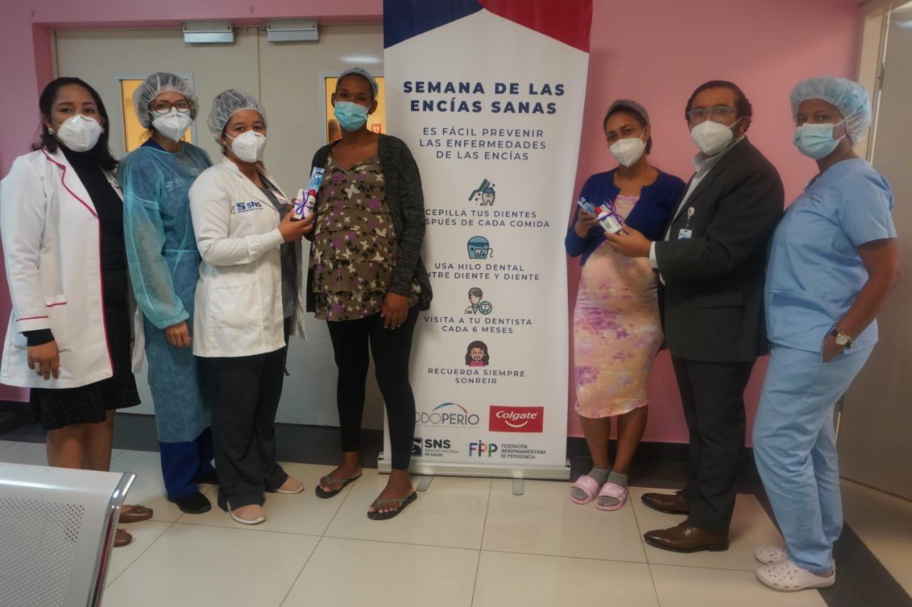 """Hospital Materno Dr. Reynaldo celebra la """"Semana de las Encías"""" con diversas actividades"""