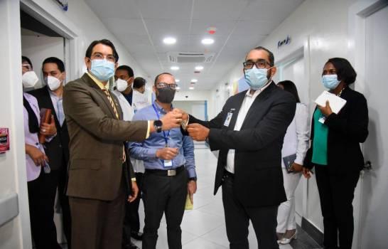 Dejan en funcionamiento área del hospital Cabral y Báez