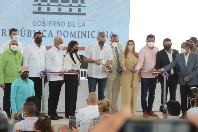 Presidente Abinader inaugura mercado municipal de Villa La Mata, provincia Sánchez Ramírez