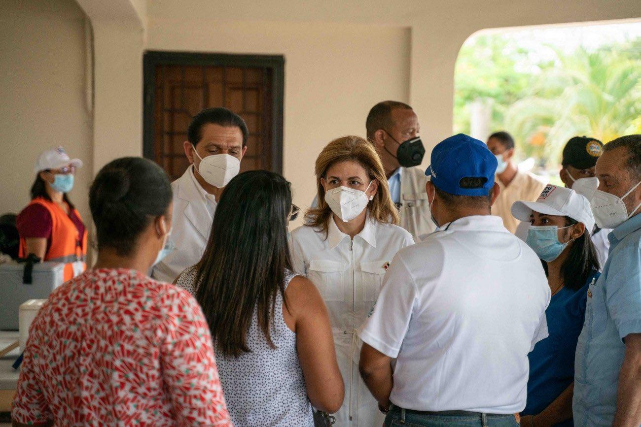 Raquel Peña clama a la población aplicarse tercera dosis de la vacuna contra el Covid-19