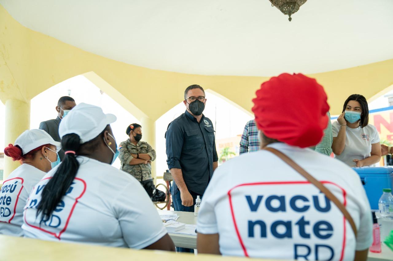 Autoridad Portuaria llega a la provincia El Seibo para fortalecer jornada de vacunación que desarrolla el Gobierno