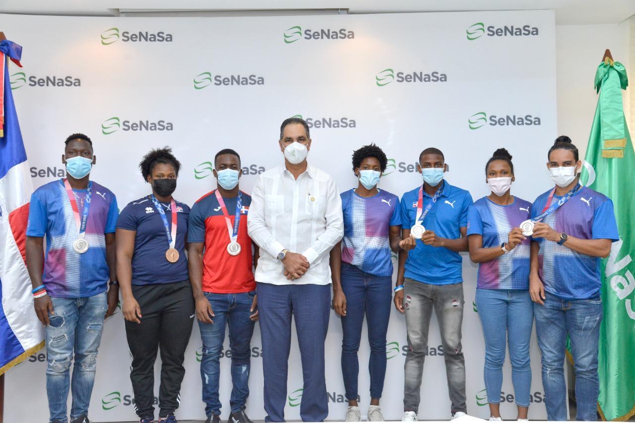 SeNaSa otorga Plan Complementario Premium a medallistas olímpicos