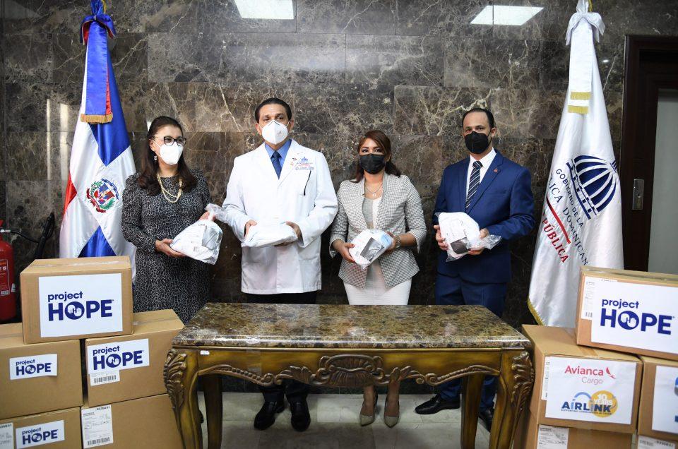 Ministerio de Salud recibe donación de más de 445 mil mascarillas KN95